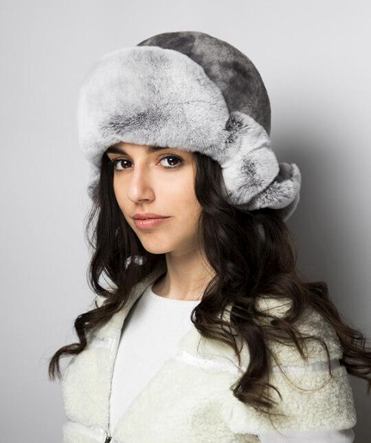 Шапка-ушанка Николь