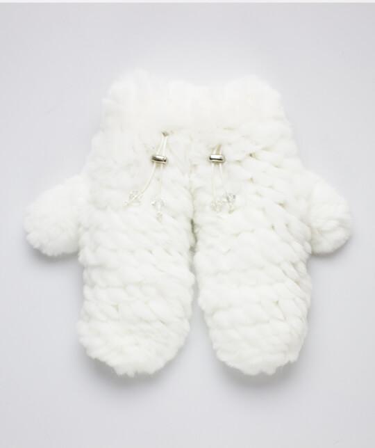 Варежки Nuvolla-бел