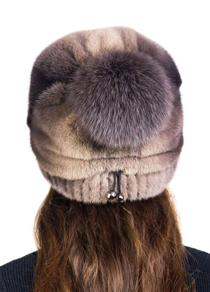 шапка Баярма коричзад