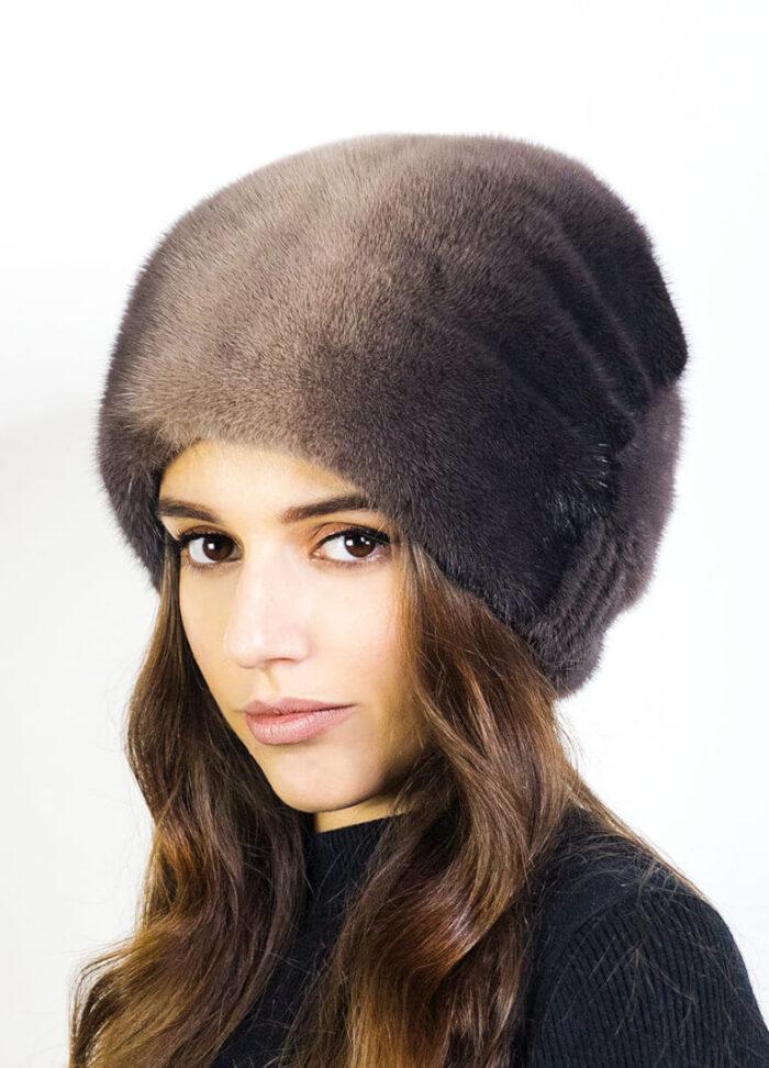 шапка Баярма корич