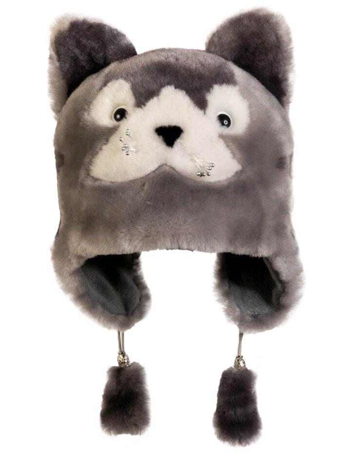 Шапка-волчонок