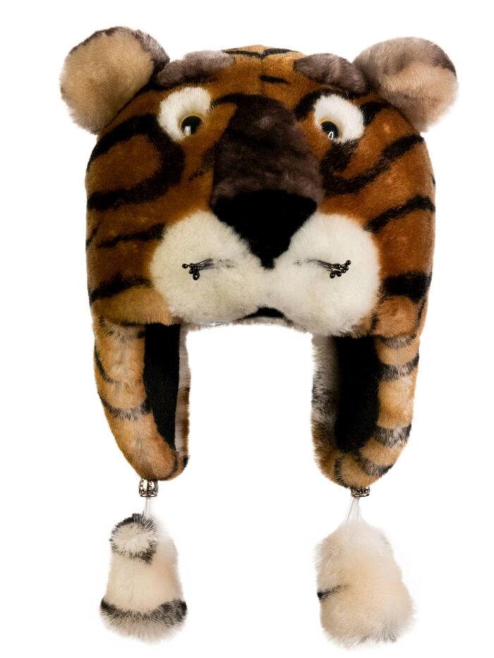 Шапка-тигр