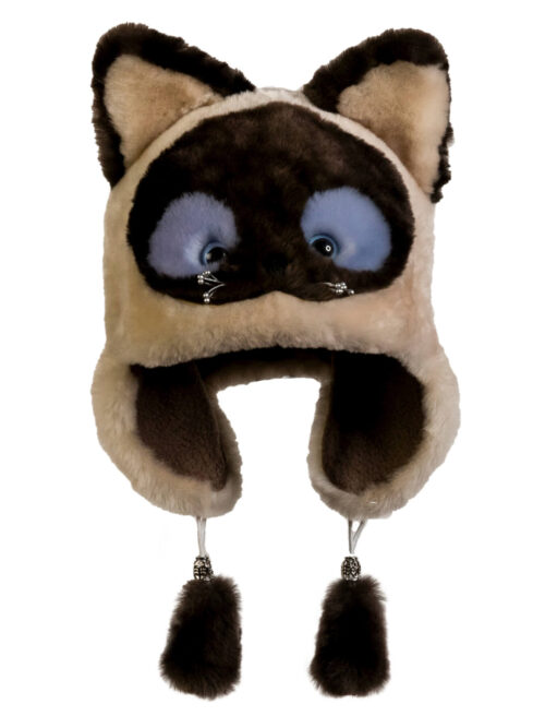 Шапка -Сиамский котик