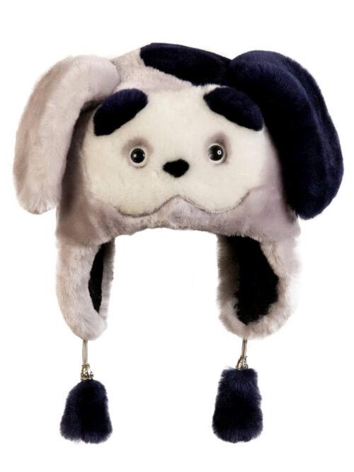 шапка собачка