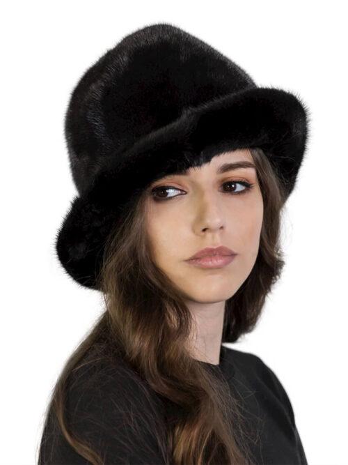 Норковая шляпа BITFUR DESIGN