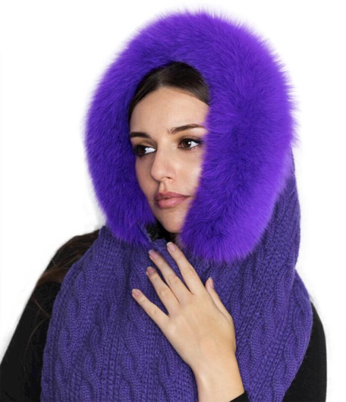 капор алисса фиолет